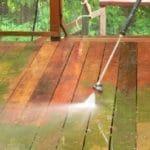 power wash-deck